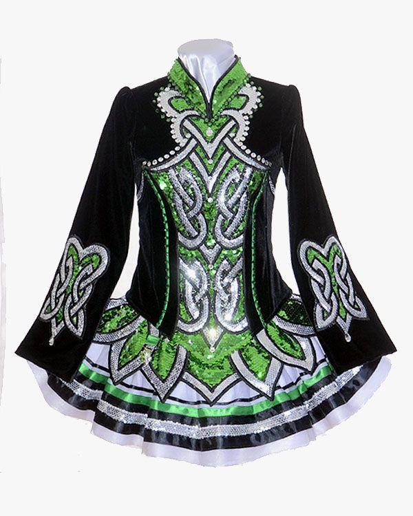 Celtic Art - Designs by Lucy Irish Dance Solo Dress Costume