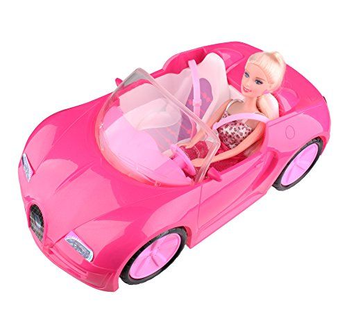 Glam Convertible Car for Barbie Doll * Want to know more, click on the image.