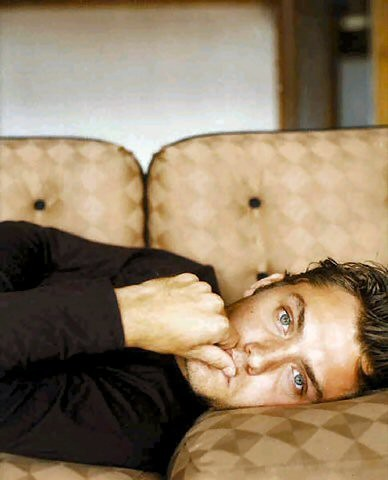 Jude Law. He can read me bedtime stories..