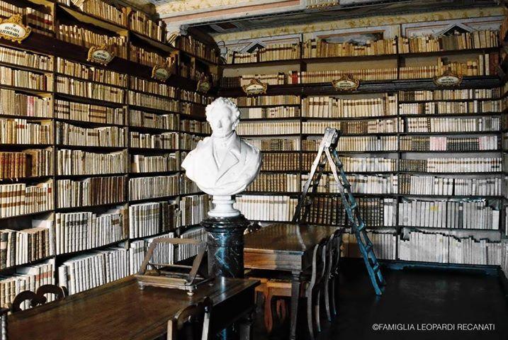Biblioteca di Casa Leopardi a Recanati