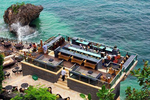 The coolest bar in the world: Rock Bar, Bali
