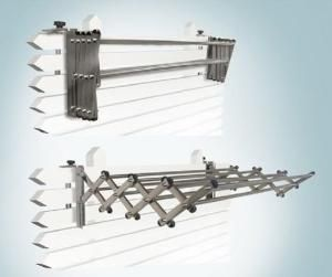 Which Indoor Clothes Drying Rack Is Best?: Expandable Wall Mount Clothes Drying Rack