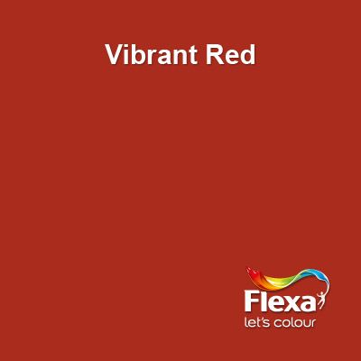 Flexa Creations kleur: Vibrant Red