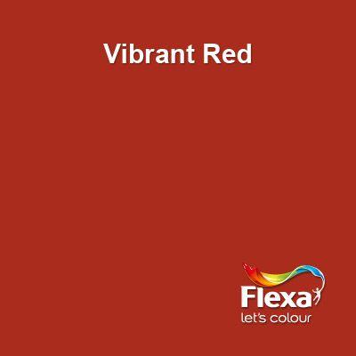 Flexa Creations kleur: Vibrant Red