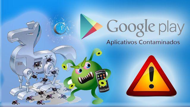 8 aplicativos infectados com vírus foram encontrados na Google Play Store, tome cuidado para não cair nesta enrascada. Acesse: https://youtu.be/G0V9T-WkX9s