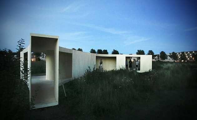 Anne Holtrop, Trail House (2009). © Gert Jan van Rooij, Museum De Paviljoens