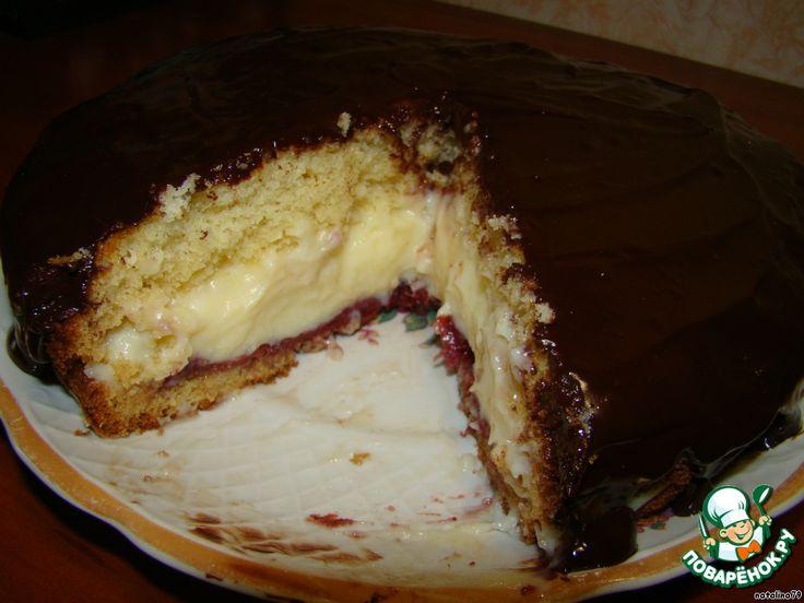 Бостонский кремовый пирог ингредиенты