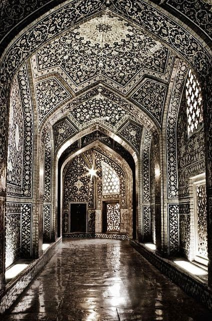 Sheikh Lotf-allah's Mosque, Isfahan, Iran. Jaw-droppingly beautiful.