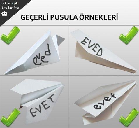 Geçerli Pusula Örnekleri / Bobiler.org