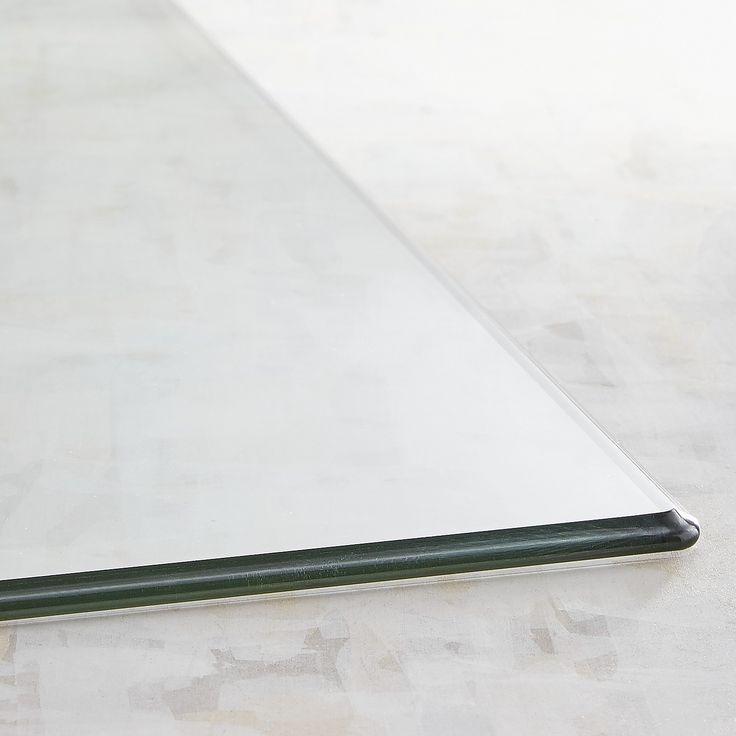 Rectangular 30x48 Glass Table Top