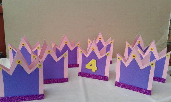 Inviti/Partecipazioni/Primo compleanno/Compleanno/corona/Principessa/bambina/handmade/Inviti principessa/rosa/ di FrancyHappyShop su Etsy