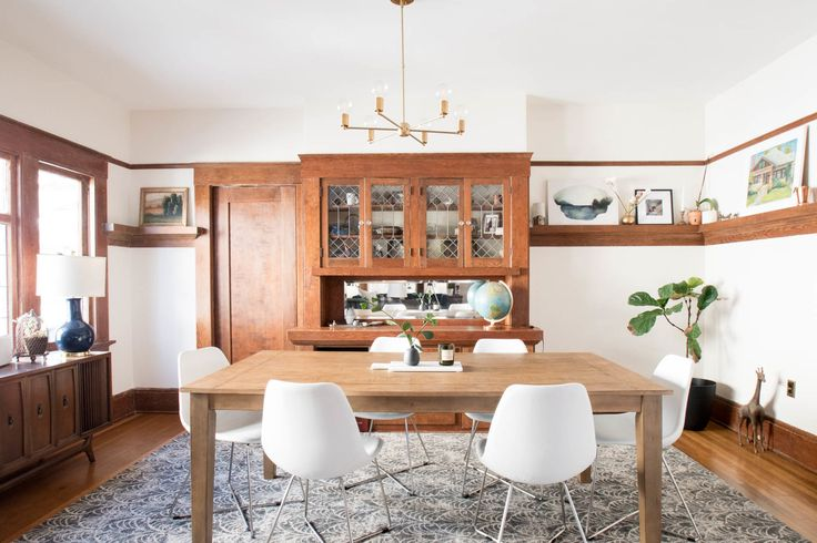 Craftsman bungalow dining room