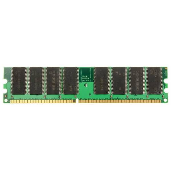 Specification: Capacity: 1GB Pins: 184-Pin Form Factor: DIMM Speed: 266MHz Memory Specifications: PC-2100 Technology:DDR RAM Non-EC Supply Voltage: 2.5V Compatible with multiple systems. Package Included: 1x 1GB PC-2100 SDRAM Desktop Memory Ram