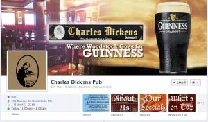 Charles Dickens Facebook Customization