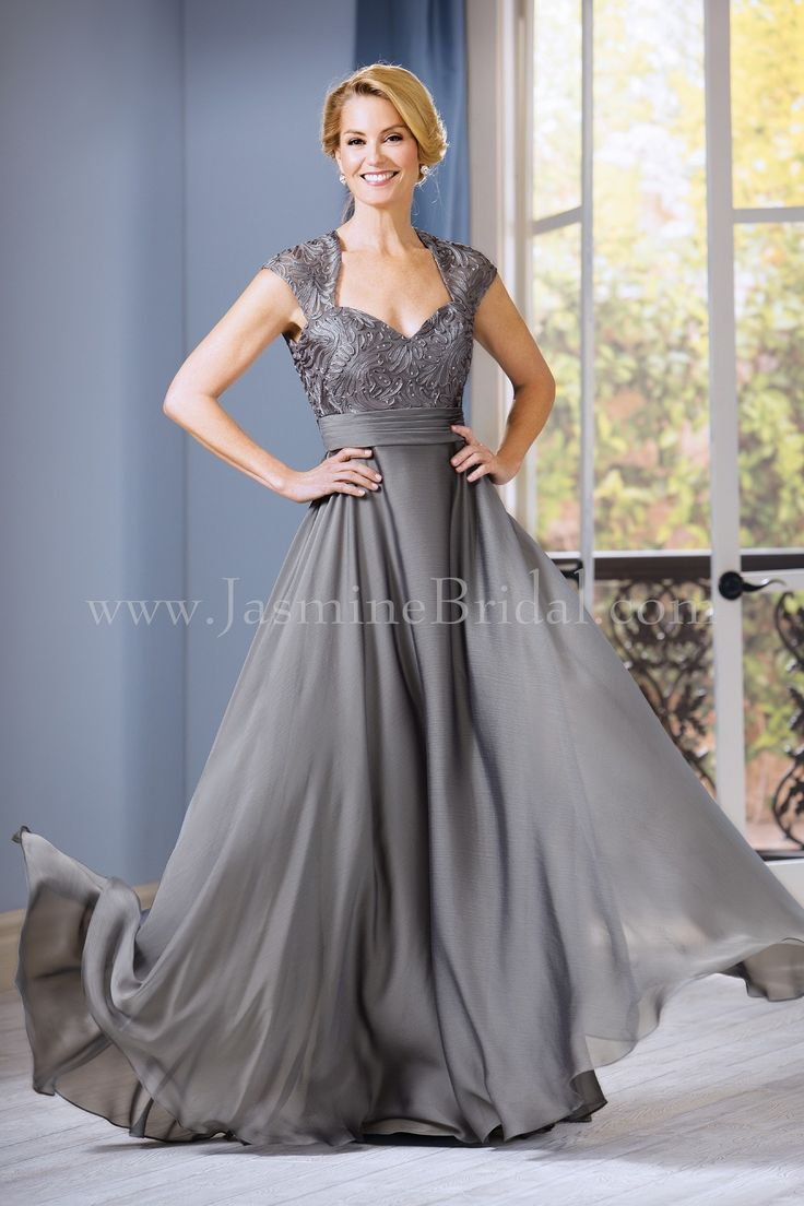 Jasmine bridal jade style j185060 in silver fall 2016 for Mother of the bride dresses for fall wedding