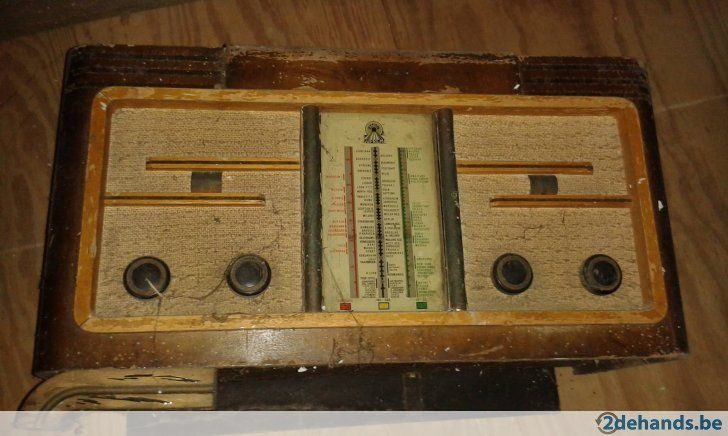 antieke radio