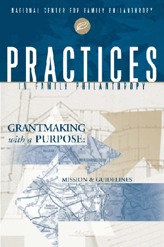10 best ncfp guides workbooks and journals images on pinterest grantmaking with a purpose mission and guidelines with case studies from families learn how a mission statement can inform your decision making process fandeluxe Image collections