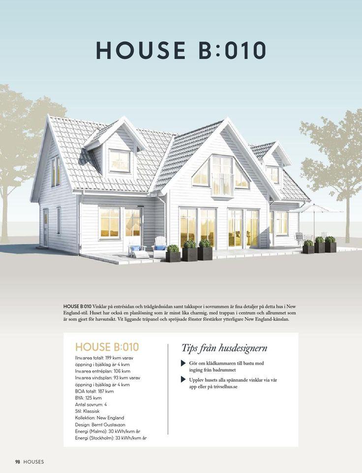 Houses No. 3 Tredje numret av Houses - 260 sidor inspiration och husmodeller från hustillverkaren Trivselhus.