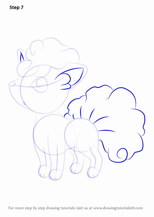 Alolan Vulpix Coloring Page Inspirational Learn How To Draw A A