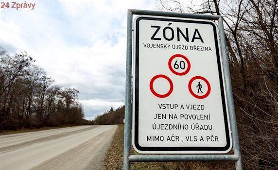 Armáda ustoupila tlaku obcí, do vojenského prostoru Březina pustí cyklisty