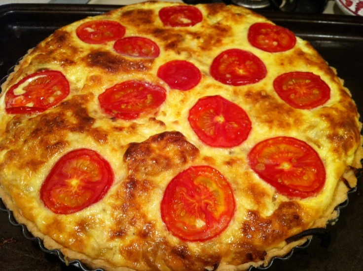 caramelized onion and leek quiche | eats | Pinterest