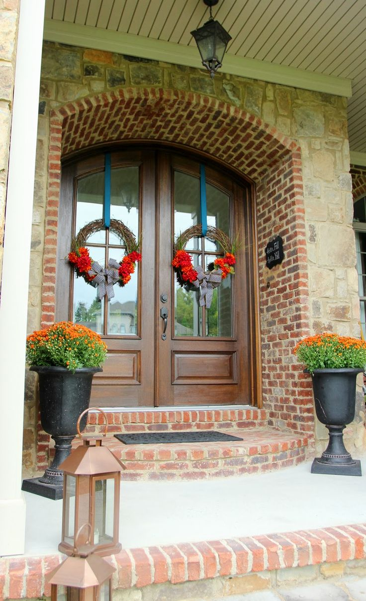 Great Less Than Perfect Life Of Bliss: How To Hang A Wreath (Without. Arched  DoorsMetal ...