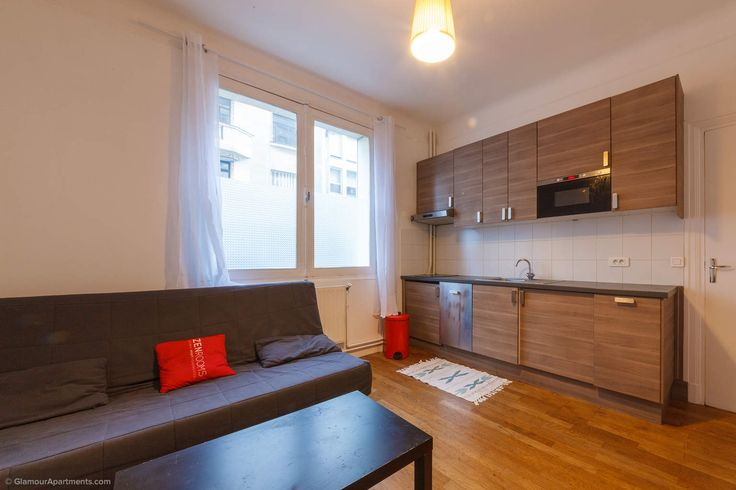 One-bedroom furnished apartment for rent on Rue Jean de la Fontaine in the 16th arrondissement of Paris. It's a comfortable accommodation for reasonable price in a good area of the city for a couple or a family with a child. https://www.glamourapartments.com/real-estate/long-term-rentals/la-fontaine