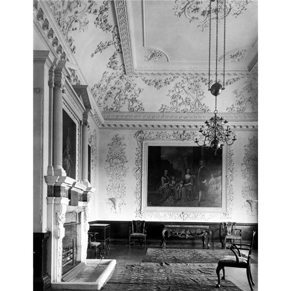 Music Room, Rolls Park, Essex Destroyed 1953