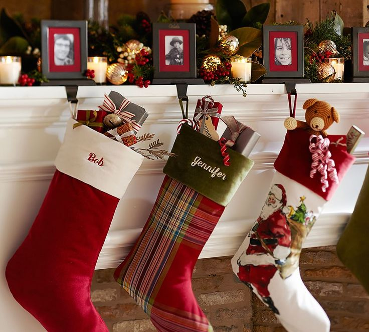 Personalized stockings make everyone feel extra special