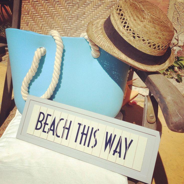 Enjoy your day at the beach !!!PROFITEZ des rayons de soleil #OBag #sun #fullspotbiarritz #fullspot #biarritz