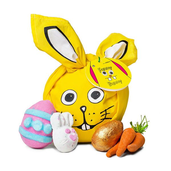 109 best lush fresh handmade cosmetics images on pinterest funny bunny gift filled with springtime fun negle Images