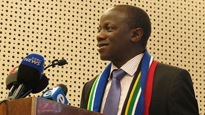 Government has confirmed that the inauguration of the new President will take place on Saturday May 24 at Union Buildings.  Minister for Performance Monitoring and Evaluation as well as Administration and chairperson of the Inauguration Inter-Ministerial Committee, Collins Chabane, addressed journalists on government's state of readiness to host the 2014 Presidential Inauguration. He says the inauguration takes place during the time were the country celebrates 20 years of Freedom.