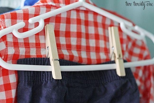hanging baby pants