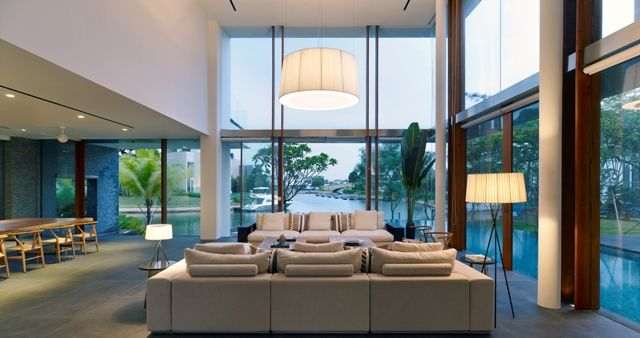 Living Room Comfort with a view