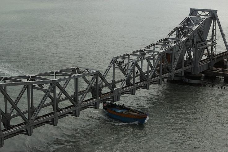 Pamban Bridge, Rameshwaram, India