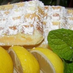 Lemon Meringue Waffles, yummmmm they know me too well : )