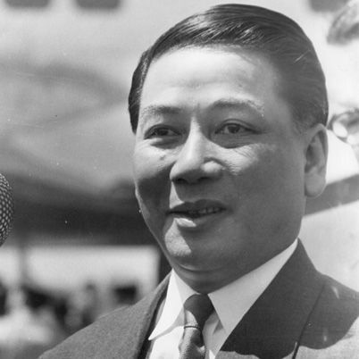Ngo Dinh Diem, the autocratic and corrupt leader of South Vietnam from 1955-1963. He was initially supported by the U.S., but not by the Vietnamese Buddhist majority. He was assassinated in 1963 during a U.S. approved coup.