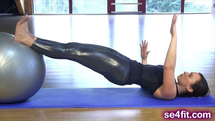 3 exercices pour des jambes fuselées! (mollets, ischios, fessiers,...)
