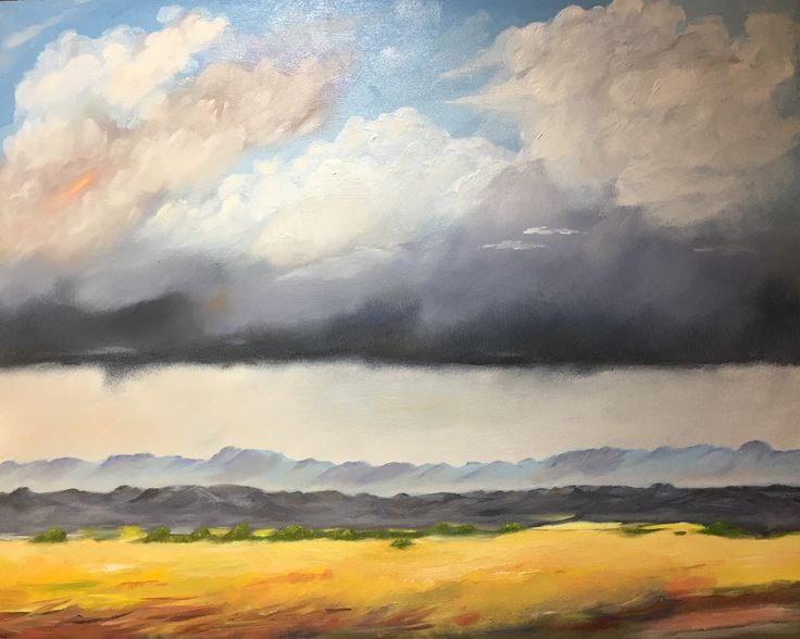 """""""Promising clouds"""" (Overberg, South Africa)"""