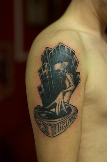 Scratch#tattoo