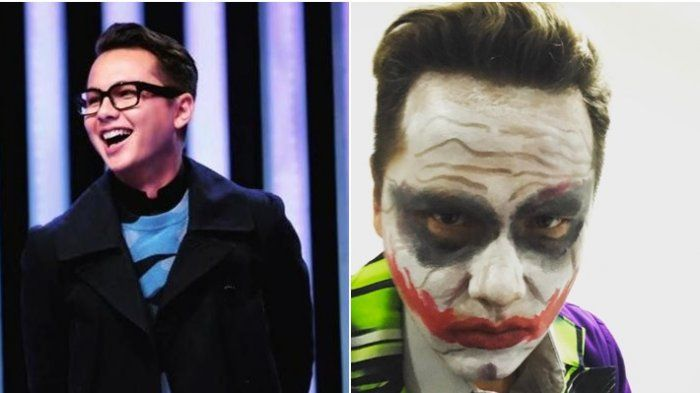 Andhika Pratama Tampil dengan Make Up Seram, Gading Marten: Kaya Boker, Eh Joker!