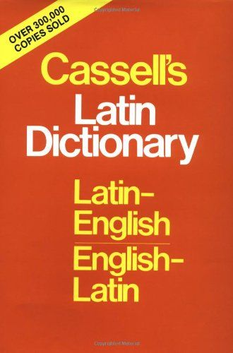 Cassell's Standard Latin Dictionary: Latin/English, English/Latin by D. P. Simpson http://www.amazon.co.uk/dp/0025225804/ref=cm_sw_r_pi_dp_Y7T7tb1FP2A8H