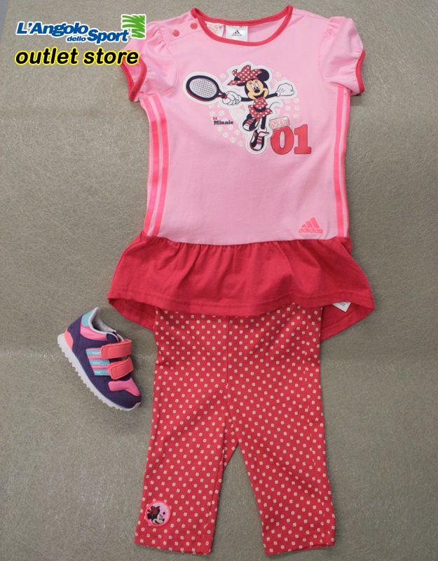 Completino #Adidas #Disney -40% Scarpe Adidas ZX700 -30% #AngoloOutlet by Roberta Borgognoni Via del Ponte Pisano 50