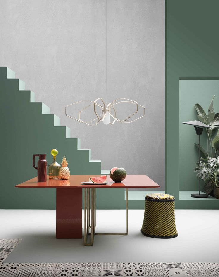 Corriere della Sera Plinto table by Andrea Parisio for Meridiani (Styling Studio Salaris)