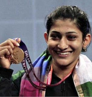 Beautiful Badminton Girl Ashwini Ponnappa