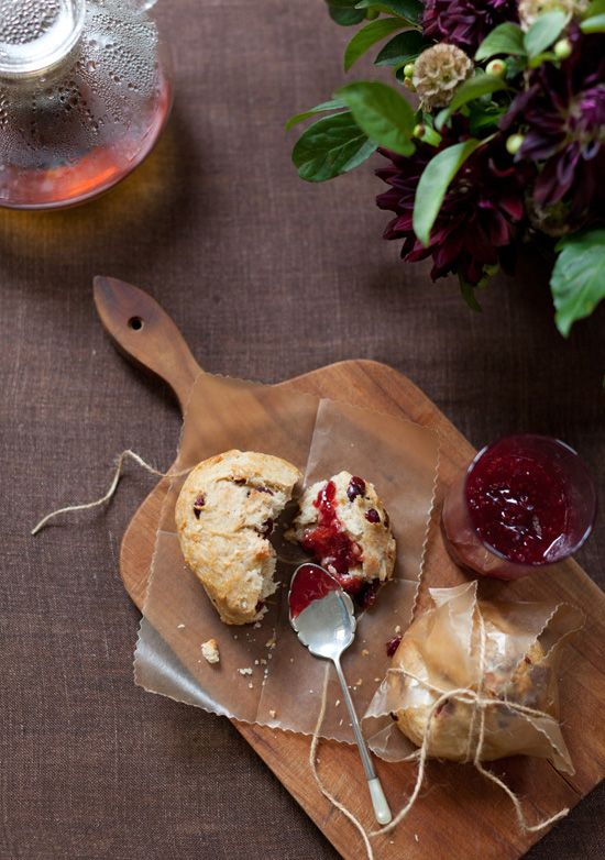 Cranberry Scones - The Jewels of New York