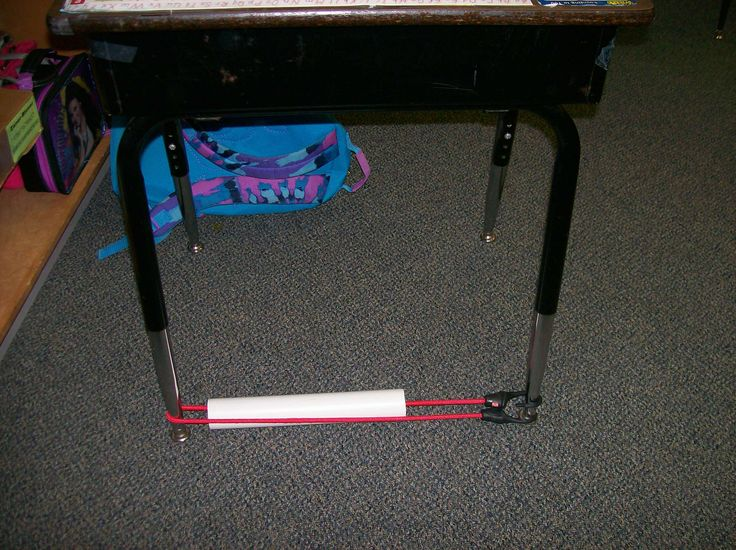 Sensory aid - slide a PVC pipe over bungi cord and attach to desk legs. Student can keep feet busy while still paying attention and staying on task.: Pools Noodles, Business Feet, Student, Frugal Teacher, Classroom Behavior, Pvc Pipes, Classroom Management, Classroom Ideas, Bungee Cords