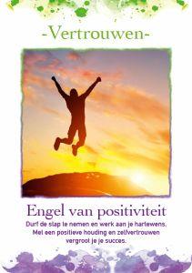 Durf de stap te nemen en werk aan je hartewens. Met een positieve houding en zelfvertrouwen vergroot je je succes.