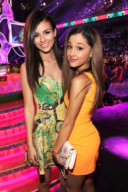 Victoria Justice and Ariana Arande - Kids Choice Awards 2014