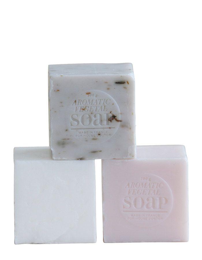 Francouzské mýdlo kostka / lavmi